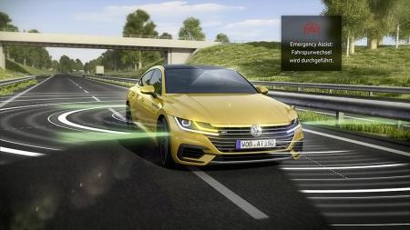 Volkswagen Arteon Acil Durum Asistanı 2.0 ile Geliyor, Nasıl Çalışıyor?