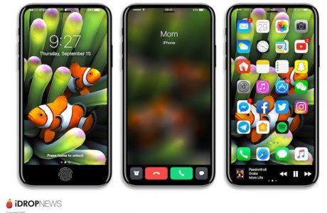 iPhone 8 Konsept Tasarımı, Dokunmatik Çubuk Nasıl Görünecek?