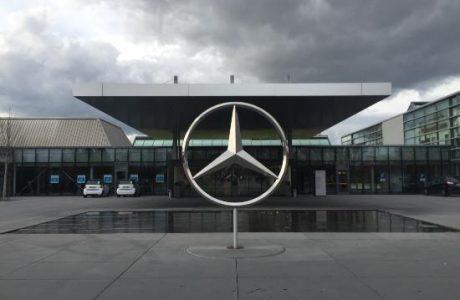 Almanya MERCEDES Benz Tesislerinde 23 Savcı ve 230 Polis Arama Yapıyor