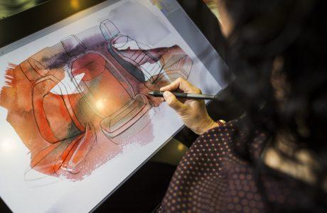 Otomobil Tasarımında Kalem, Kağıt, Kil ve 3 Boyutlu Gözlük
