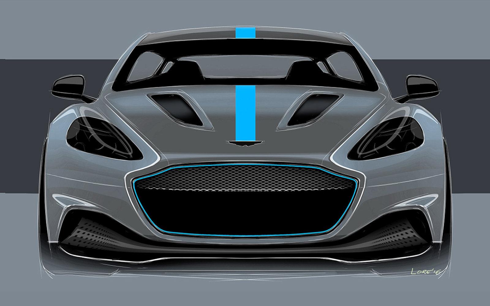 Aston Martin 800 Beygirlik Elektrikli Super Araba Üretimine Başlıyor