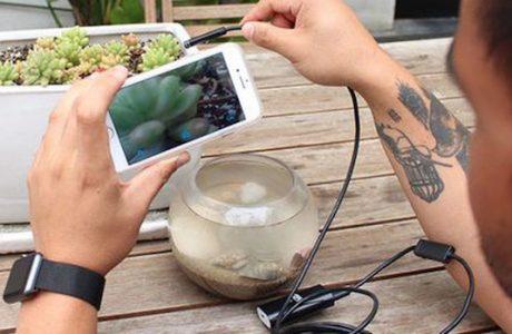 Wi-Fi HD Su Geçirmez Endoskopik Kamera ile Mikro Dünyaya Adım Atın!