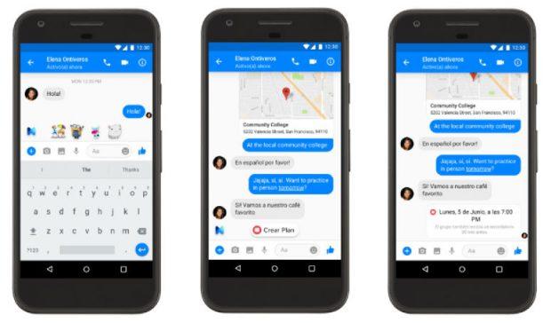 Messenger Sanal Asistanı Facebook M İSPANYOLCA Dil Desteğine Kavuştu