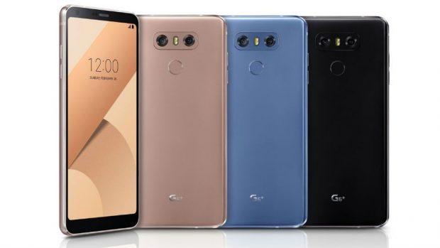 LG G6+ duyuruldu: 128 GB depolama ve yeni renk seçenekleri