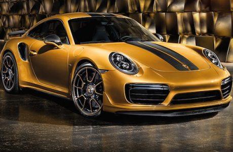 Yeni Porsche 911 Turbo S Exclusive 607 HP ve Sadece 500 Adet