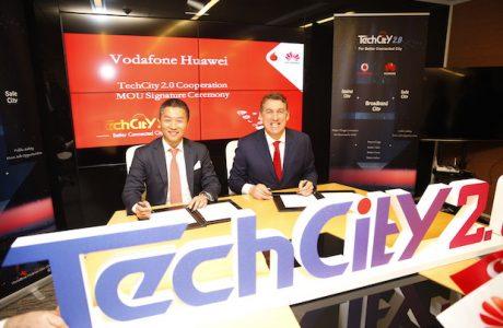 Huawei ve Vodafone Türkiye'de TECHCITY 2.0 Projesini Başlattı