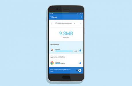Google Triangle, Mobil Veri Tüketiminizi Kontrol Altına Alın!