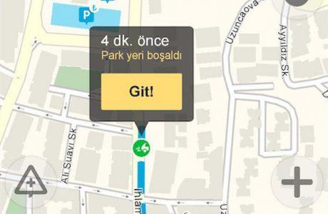 Yandex Navigasyon Boşalan Park Yerlerini Gerçek Zamanlı Gösteriyor