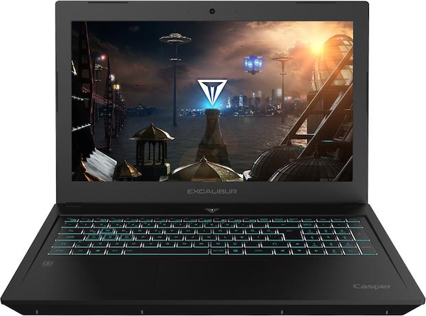 Yeni Casper Excalibur G600, 15.6 inç Yeni Oyun Bilgisayarı