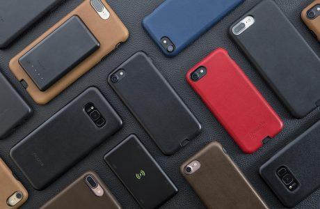 Mophie'den iPhone 7 ve Galaxy S8'e Kablosuz Şarj Desteği Getiren Kılıf