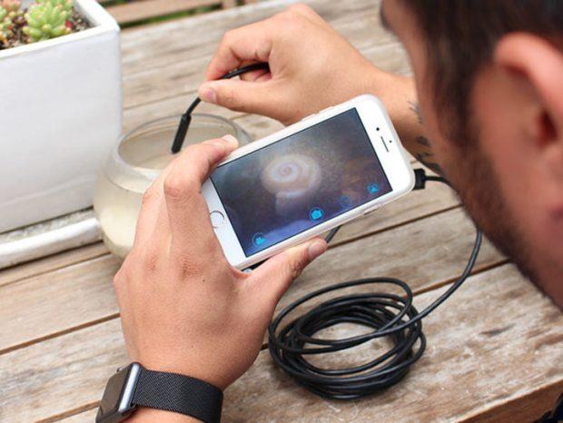 Su Geçirmez Endoskopik Kamera