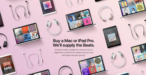 Apple'ın Bedava Beats Kulaklık Kampanyası 2017 Amerika ve Kanada'da Başladı