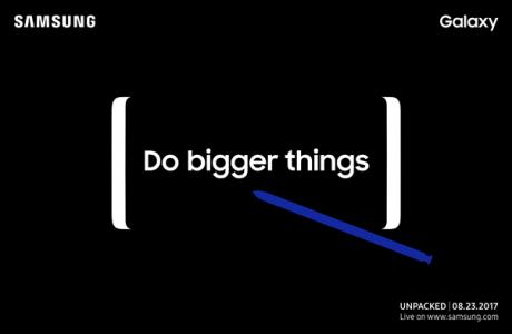 Samsung Galaxy Note 8 Resmi Tanıtım Tarihi Açıklandı, Hangi Özellikler?
