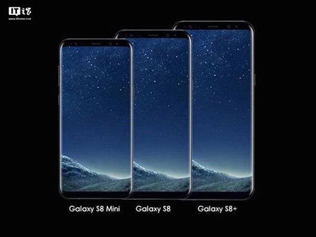 Samsung Galaxy S8 Mini, 4.7 inç Gövdeye 5.3 inç Ekran