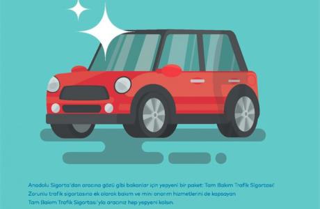Tam Bakım Trafik Sigortası, Trafik Sigortasına Kasko Özellikleri Ekliyor