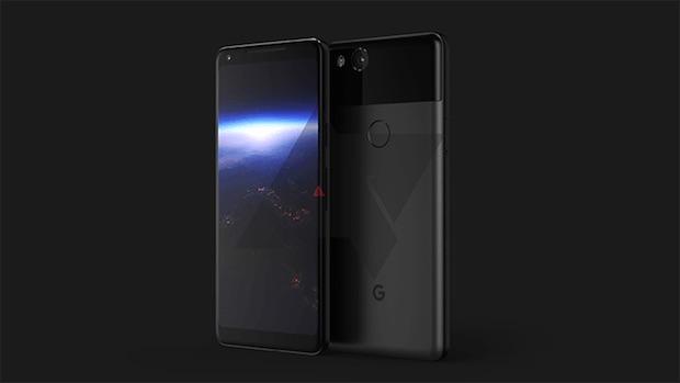 Basınca Duyarlı Neredeyse Çerçevesiz Yeni Google Pixel XL 2017