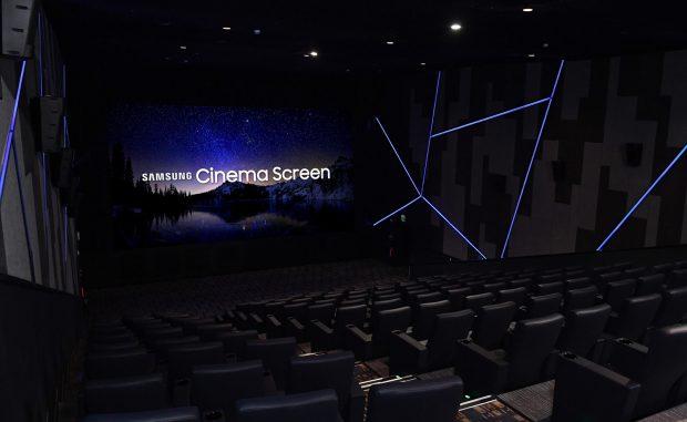 Samsung'tan 4K Sinema LED Ekran, 406 inçlik DEV EKRAN