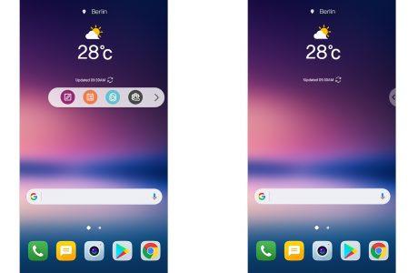 LG V30 Yeni Kullanıcı Arayüzü UX 6+, Kişiye Özel Seçenekler Sunuyor