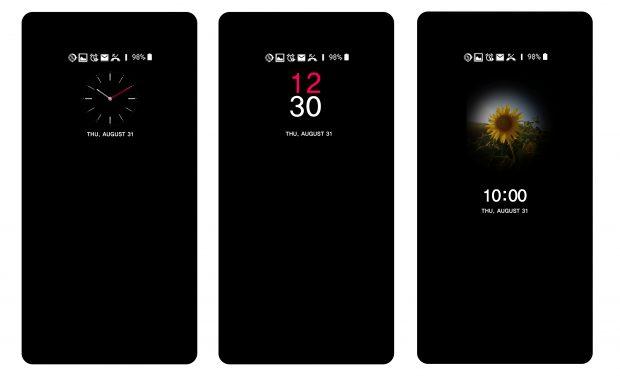 LG V30 Yeni Kullanıcı Arayüzü