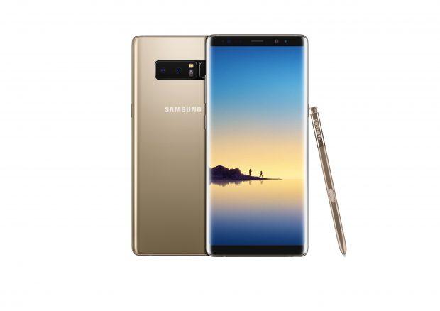 Samsung Galaxy Note 8 18 Eylül'de Türkiye'de satışta