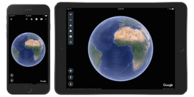Google Earth iOS, Google'ın Yeni Fantastik Uygulaması Şimdi iOS'ta