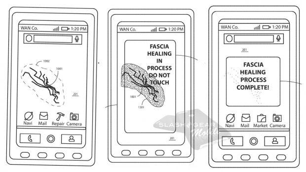 Motorola Kendini Onaran Telefon Ekranı