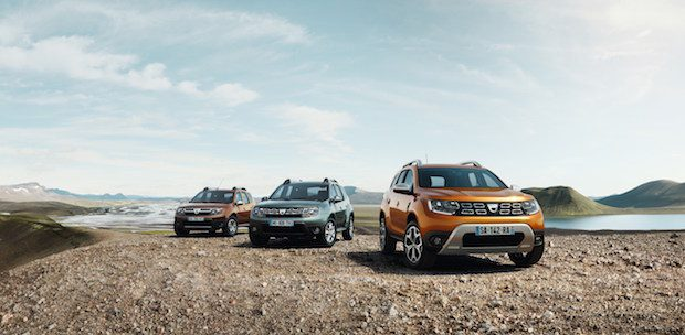 Yeni Dacia Duster 2018