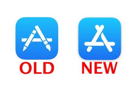 iOS 11 Beta 6, Yeni Apple Store Logosu, Yıllar Sonra Değişti