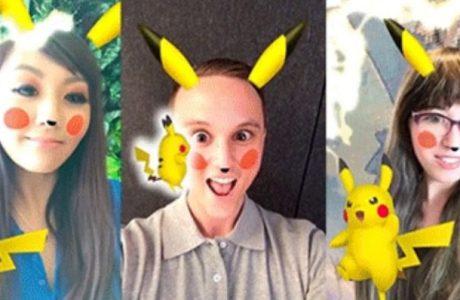 Snapchat'in Yeni Pikachu Filtresi Pokemon Hayranlarını Sevindirdi