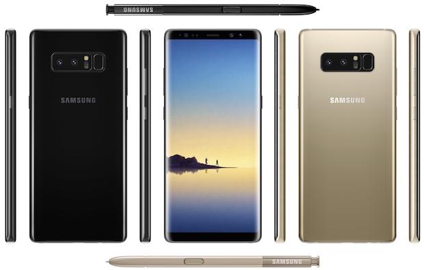 Samsung Galaxy Note 8 DeX Dock Hediyesiyle 15 Eylül'de Gelebilir