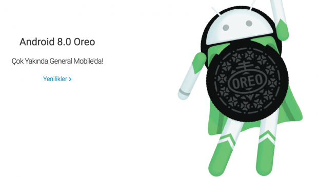 Android 8.0 Oreo General Mobile