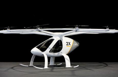 Daimler Volocopter'in Uçan Taksi Fikrini Finanse Ediyor