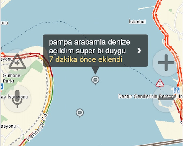 Yandex Navi, Yoğun Trafikten Bunalan Sürücülerin Matrak Trafik Yorumları