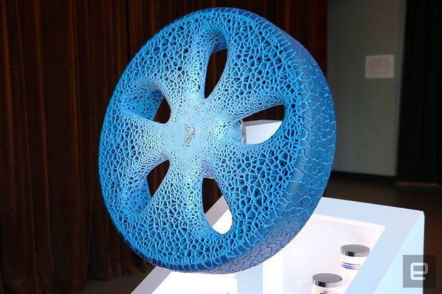 Michelin'in 3D Baskılı Havasız Otomobil Lastiği