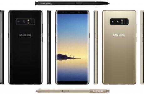 Samsung Galaxy Note 8 Geceyarısı Siyahı Rengiyle Ortaya Çıktı