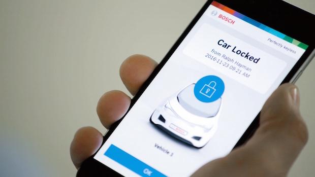 Bosch Perfectly Keyless, Akıllı Telefonları Otomobil Anahtarına Dönüştüren Çözüm