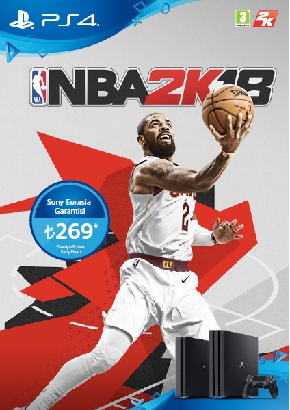 NBA 2K18 Playstation