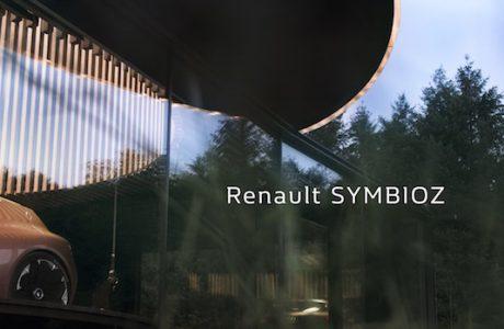 Renault SYMBIOZ Elektrikli Konsept,12 Eylül'de Frankfurt'ta Gösteriliyor