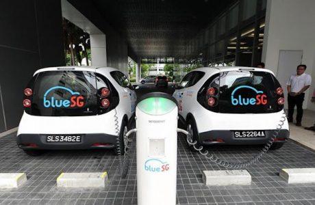 Singapur Elektrikli Otomobil Paylaşım Servisini Başlattı