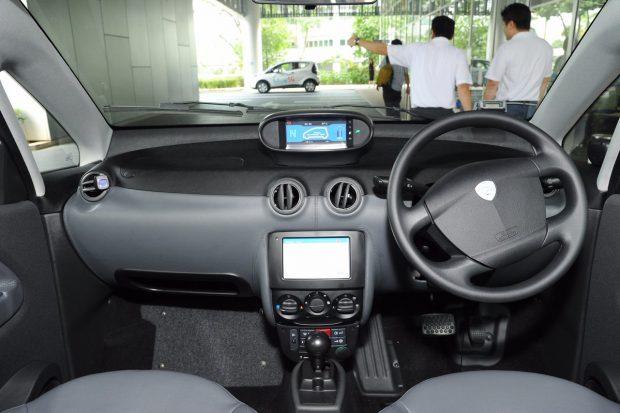 Singapur Elektrikli Otomobil Paylaşım