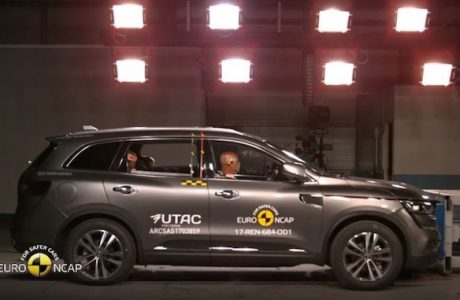 Yeni Renault KOLEOS Euro NCAP Testinden Beş Yıldız Aldı
