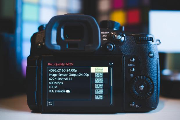 Şimdi Panasonic GH5 Geniş Ekran 6K Video Çekebiliyor