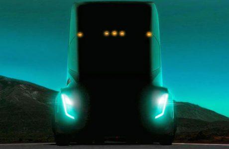 Tesla Elektrikli TIR Modeli 26 Ekim'de Tanıtılacak, Tesla Semi-Truck