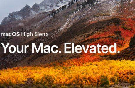 MacOS 10.13.2 Güncellemesi Yayınlandı!