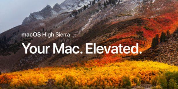 MacOS High Sierra Apple Store'dan İndirilmeye Başlandı