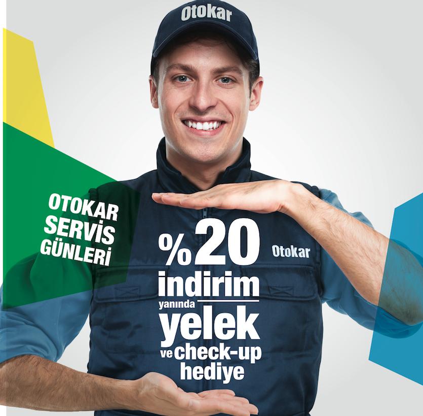 Otokar Servis Günleri 11 Eylül'de Başlıyor, Yelek ve Check-up Hediye