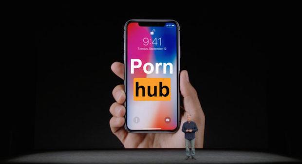 Pornhub Kullanıcıları iPhone X Tanıtımına Büyük ilgi Gösterdi