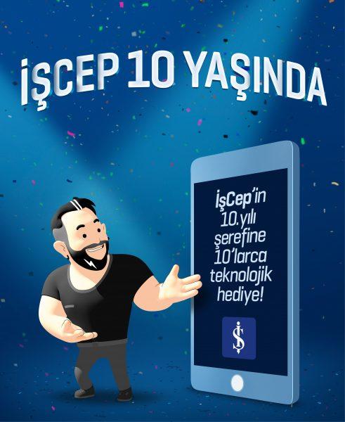 İşCep Teknolojik Hediye Kampanyası