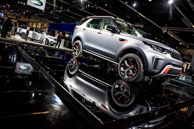 Yeni Land Rover Discovery SVX'in Konsept Lastikleri Goodyear