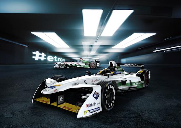 Audi e-tron FE04 Formula E'deki ilk Yarışına Hong Kong'ta Çıkacak